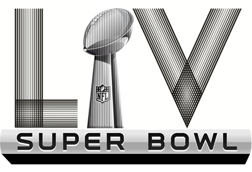 Super bowl LIV Art Deco