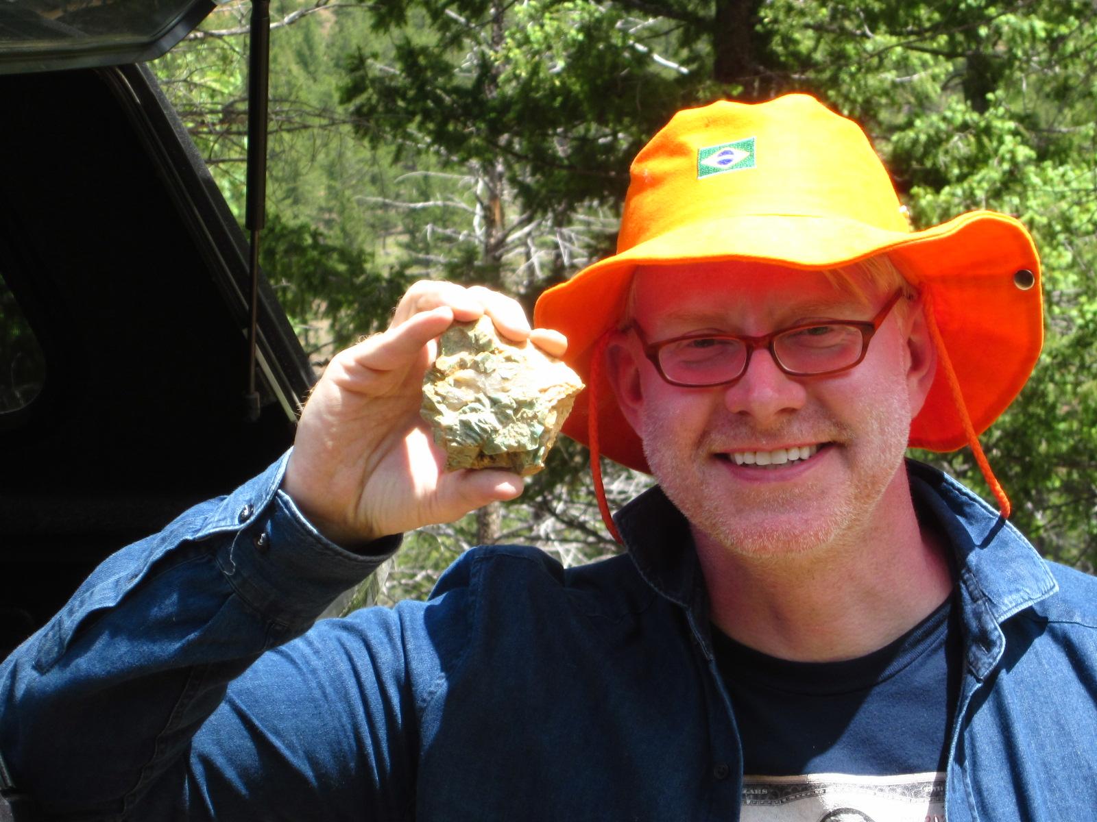 Pegmatite And Amazonite Mining In Lake George CO