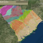 Interactive Map Of The Geology Of South Carolina American Geosciences Institute