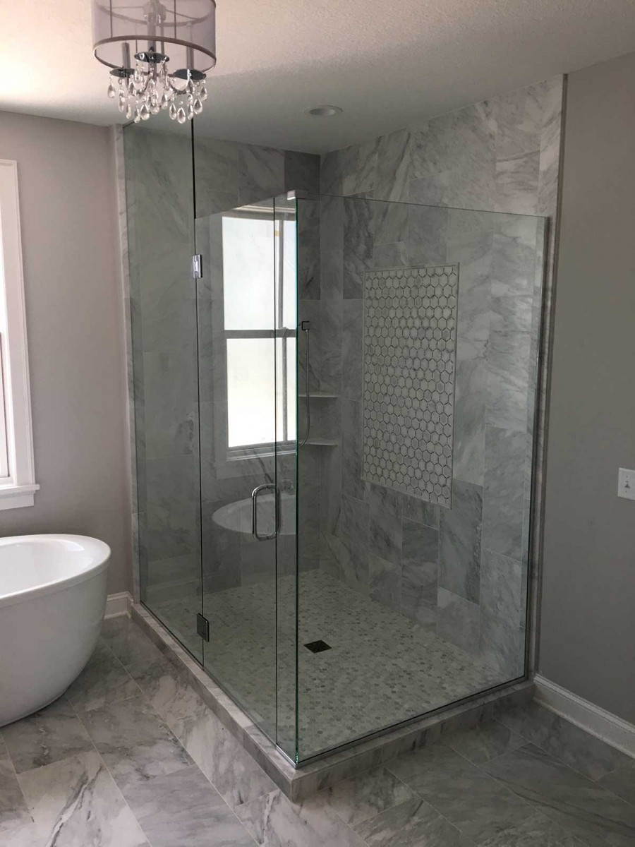 Corner Shower American Glass Mirror