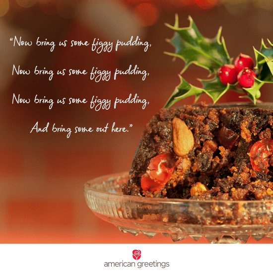 What Is Figgy Pudding Figgy Pudding Recipe Card