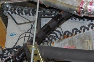 Orlando Home Inspection Services Blackened and corroded copper coils