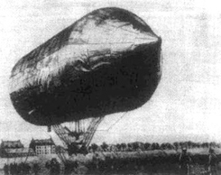 David Schwartz Blimp / Airship / Zeppelin