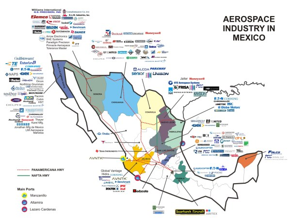 American Industries – Aerospace industry in Mexico ...