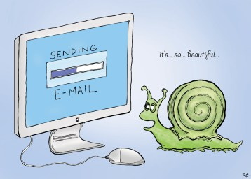 Image result for e-mail snail mail