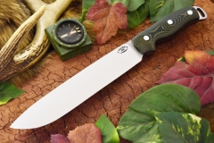 akc denali a2 black and green linen micarta 359.95