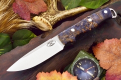 akc shenandoah blue and gold maple burl 2 ksf 329.95