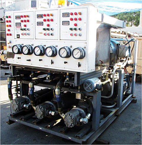 Free Standing 3 System Central Power Unit