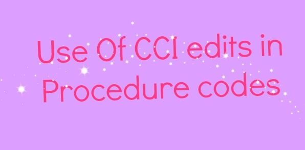 Tips when to use CCI edit in Radiology
