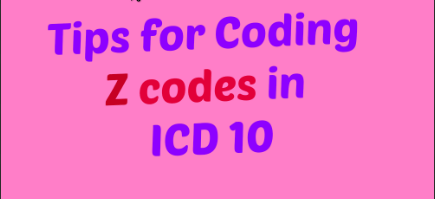 Learn when to use Z codes in ICD 10