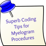 Superb guide for CPT code for Myelogram