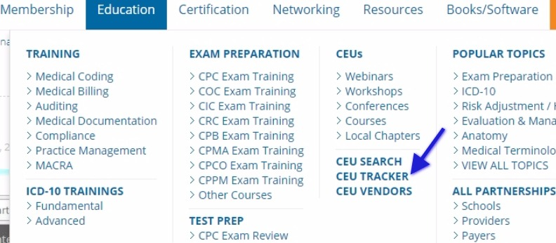 Get Free CEUs by Attending AAPC Webinars - Medical Coding Guide
