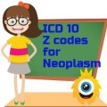 Primary and Secondary ICD 10 Z codes used for Neoplasm