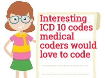 Interesting ICD 10 codes You will always love to code
