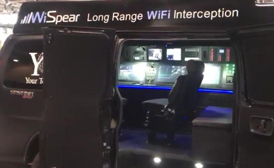 Meet The Mobile Smartphone Hacking Van: Spear Head 360
