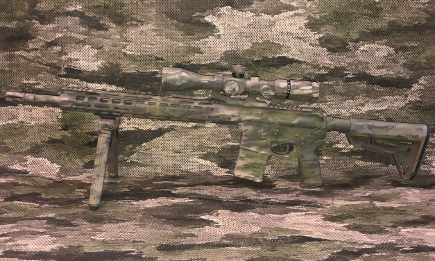 Poor mans sniper rifle update – 100 yrd accuracy.