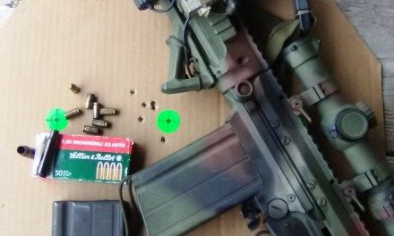 """""""Adapting To Survive"""": Firearms-Part 1, The .308 Winchester to .32ACP Cartridge Adapter"""
