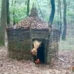 Survival and Bushcraft Shelters by Aspiring Caveman