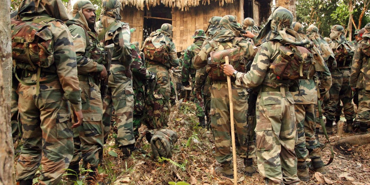 A Look At India's Jungle Warfare School