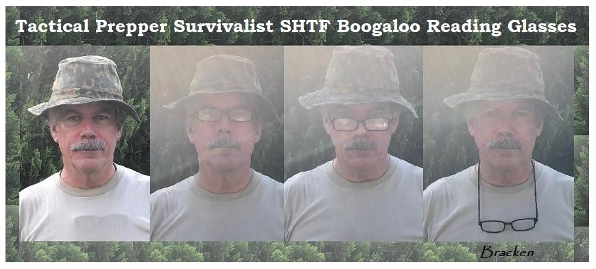 TACTICAL PREPPER SURVIVALIST SHTF READING GLASSES