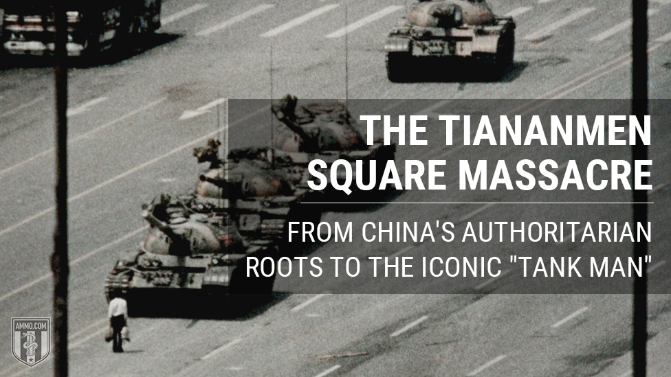 """The Tiananmen Square Massacre: From China's Authoritarian Roots to the Iconic """"Tank Man"""""""