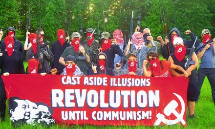 """Old Hand Sends: Armed Antifa group declares """"Everywhere a battlefield"""""""