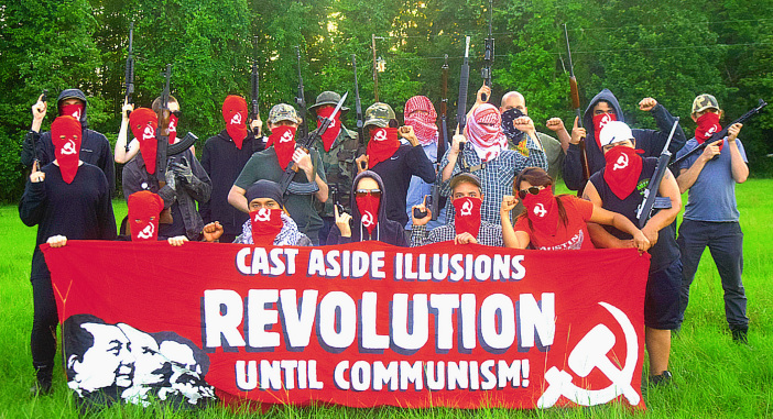 "Old Hand Sends: Armed Antifa group declares ""Everywhere a battlefield"""