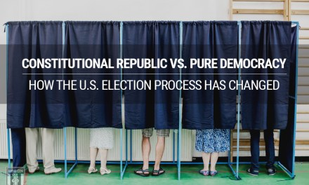 Constitutional Republic vs. Pure Democracy: How the U.S. Election Process Has Changed
