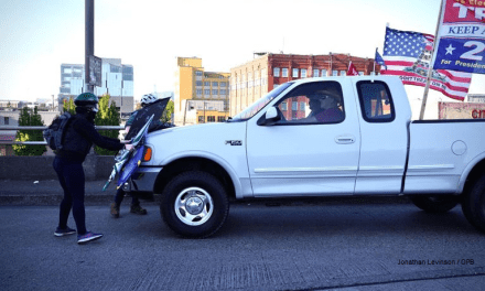 Portland, OR. – Trump Supporter Shot
