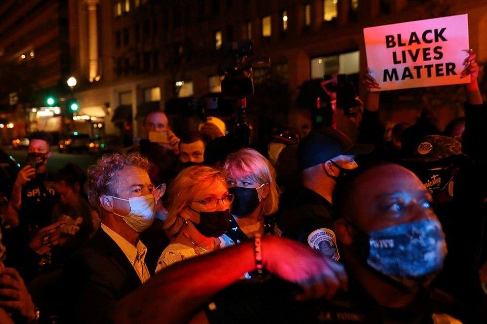 Senator Rand Paul Attacked Outside White House