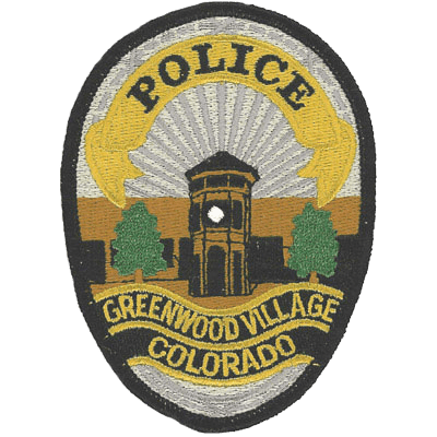 Greenwood Village Colorado Police Patch