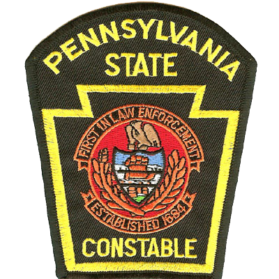 PA State Constables Patch