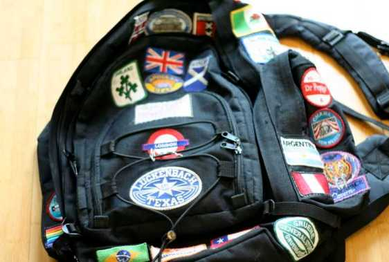 backpack patches