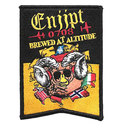 Brewed at Altitude Aviation Patch