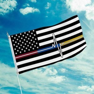 Thank You First Responder Flag