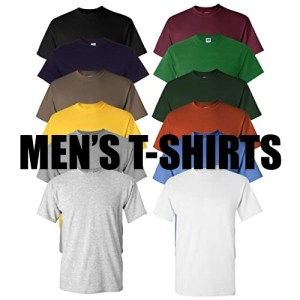 Men's T-Shirts (Short, 3/4 & Long-Sleeve)