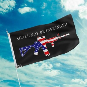 Shall Not Be Infringed Flag - American Patriots Apparel