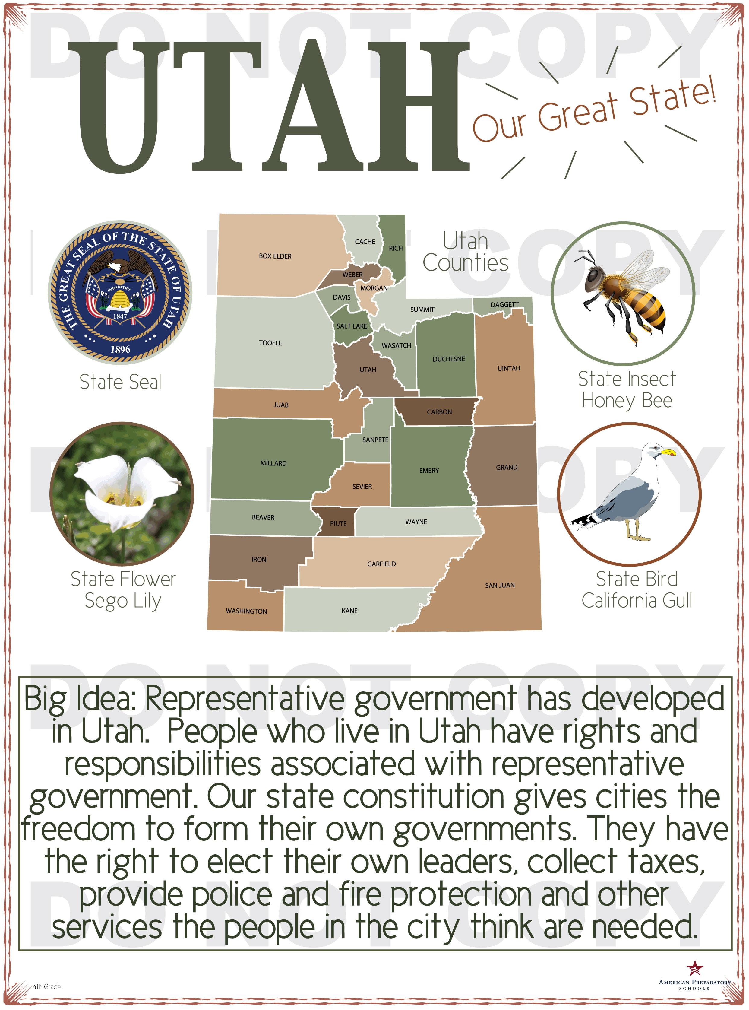 Utah History 4th Grade