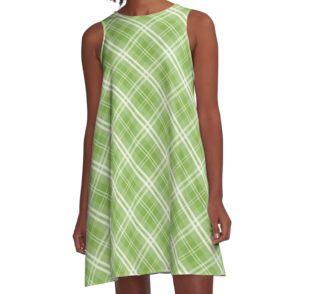 greenery pantone plaid