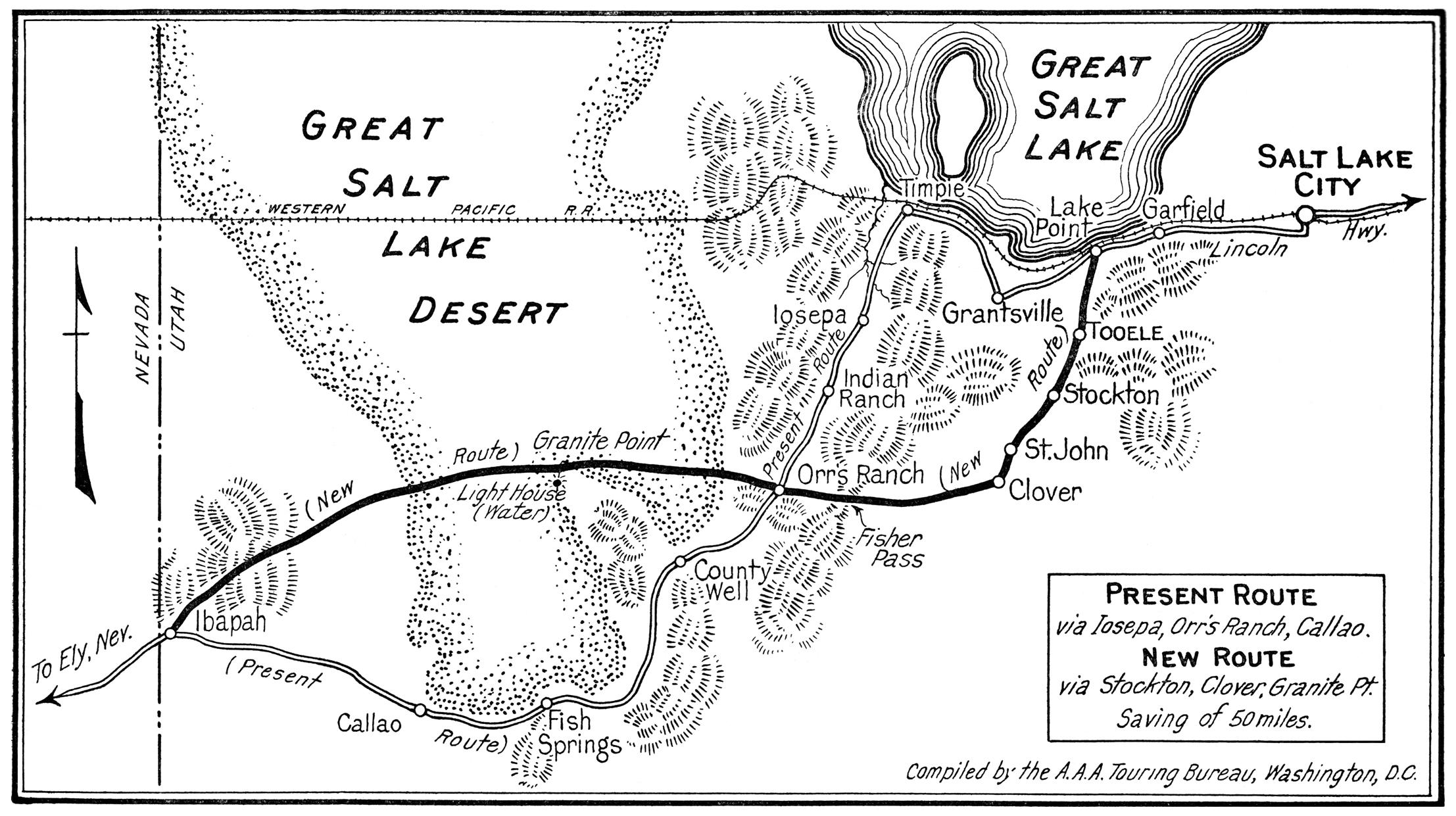 a salt map