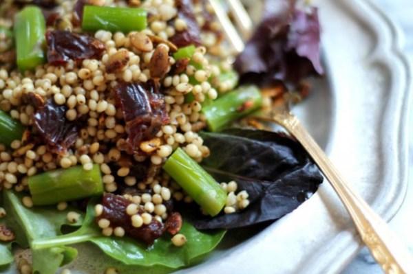 Sorghum Asparagus Spring Salad Recipe