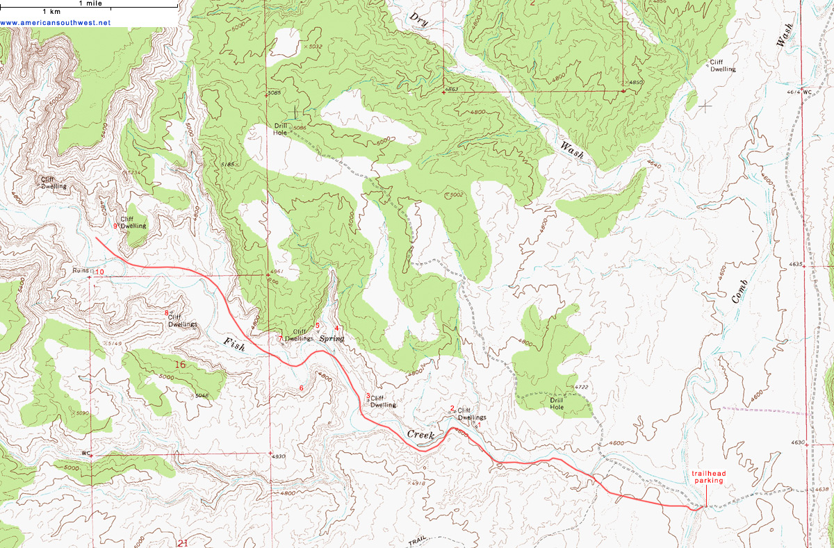 National Map Utah Escalante Monument