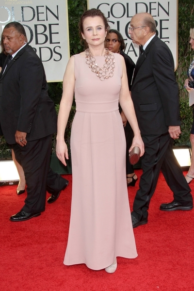 Emily Watson Pictures Emily Watson Arrives On The Red Carpet At The 69th Annual Golden Globe Awards Held At The Beverly Hilton Hotel On January 15