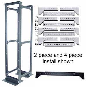 post rack 2 post racks data cabinets