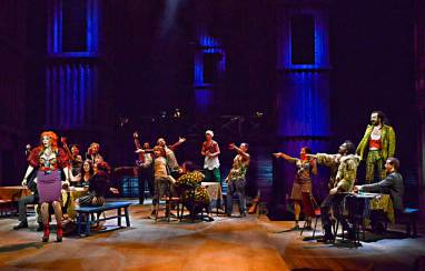 """Les Miserables"" at Dallas Theater Center. (Photo by Karen Almond)"