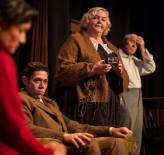 Marissa Garcia, Matt Bowdren, Cynthia Meier and Joseph McGrath in Clifford Odets's AWAKE AND SING, running at The Rogue Theatre in Tucson, Ariz. through Sept. 28 (photo by Tim Fuller)