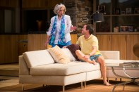 "Sally Wingert and Christian Conn in ""Other Desert Cities"" at the Guthrie Theater (photo by Michael Brosilow)"