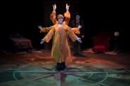 "Gary Danciu, David Hennessey in ""Around the World in 80 Days"" at Commonweal Theatre Company. (Courtesy of Jason Underferth)"