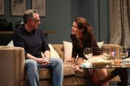 """""""Good People"""" by David Lindsay-Abaire, at Geva Theatre Center in Rochester, N.Y. through Nov. 16; pictured: Sean Patrick Reilly and Constance Macy (photo by Ken Huth)"""