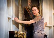 """""""Hedda Gabler"""" by Henrik Ibsen, at the Sandra Feinstein-Gamm Theatre Theatre in Pawtucket, R.I. through Nov. 30; pictured: Marianna Bassham (photo by Peter Goldberg)"""
